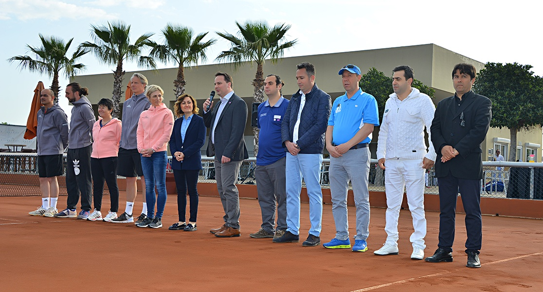 Begrüßung des BTV LK-Tenniscamps in Sorgun